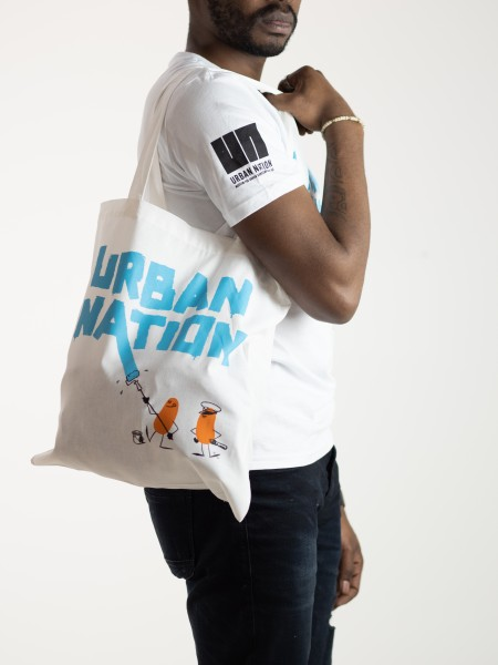 "URBAN NATION ""Roller Action"" Tote Bag"