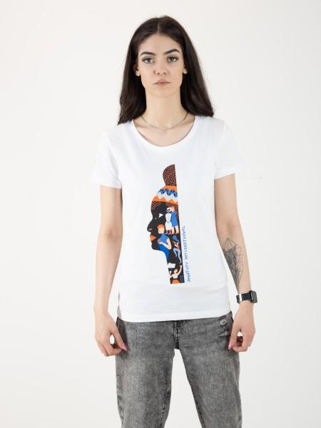 Brave Wall T-Shirt, Damen